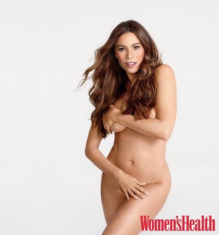 Sofía Vergara ('Modern Family') aparece completamente desnuda en la revista Women's Health