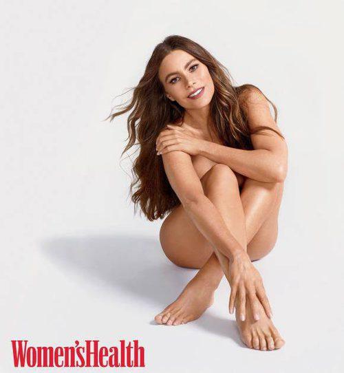 Sofía Vergara, actriz de 'Modern Family', posa desnuda para la revista Women's Health