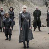 Daenerys, Tyrion, Jon Nieve, Davos, Missandei y Varys en el 7x04 de 'Juego de Tronos'