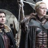 Podrick Payne y Brienne de Tarth en el 7x04 de 'Juego de Tronos'