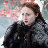 Sansa Stark durante el 7x04 de 'Juego de Tronos'