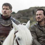Jaime Lannister y Bronn en el 7x04 de 'Juego de Tronos'
