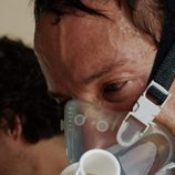 Bryan Fogel con una máscara en 'Ícaro'