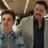 Carlos Bardem y Gaby del Castillo en 'Traición', nueva serie de TVE