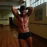 Sergio Ayala ('GH VIP 5') luce su torso musculado en redes sociales