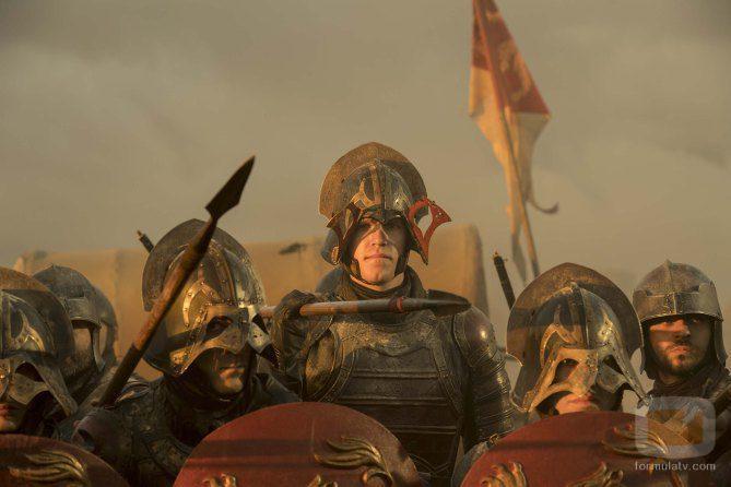 Soldados de la reina Cersei en el 7x04 de 'Juego de Tronos'