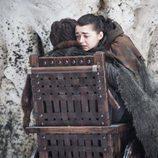 Arya Stark y Bran Stark en el 7x04 de 'Juego de Tronos'