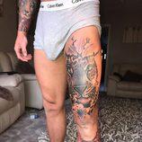 El gran bulto de Brandon Myers de 'La Venganza de los Ex' tras mostrar su nuevo tatuaje