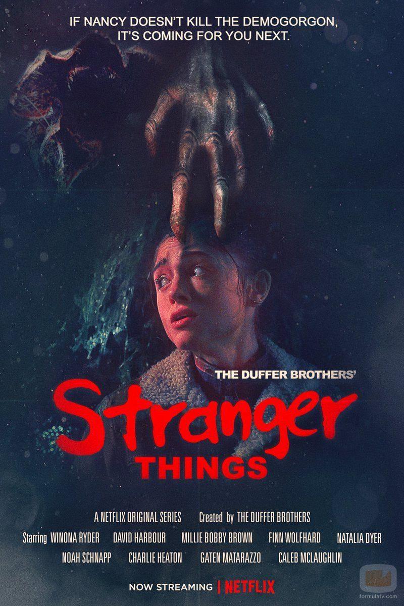 "Nuevo poster de la T2 de 'Stranger Things', que homenajea a ""Pesadilla en Elm Street"""