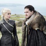 Daenerys Targaryen y Jon Nieve, de nuevo juntos, en el 7x05 de 'Juego de tronos'