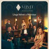Cartel oficial de 'Velvet colección', la nueva serie de Movistar+