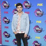 Carter Jenkis en los Teen Choice Awards 2017