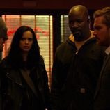 Los integrantes de 'The Defenders', juntos