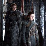 Sansa y Arya Stark en el 7x06 de 'Juego de Tronos'