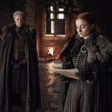 Sansa Stark y Brienne en el 7x06 de 'Juego de Tronos'