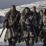 La expedición de Jon Nieve en el 7x06 de 'Juego de Tronos'