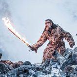 Beric Dondarrion durante 7x06 de 'Juego de Tronos'