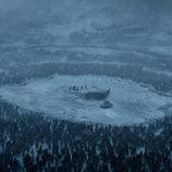 La expedición de Jon Nieve rodeada por el Ejército de los Muertos el 7x06 de 'Juego de Tronos'