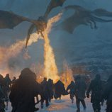 Los dragones de Daenerys en el 7x06 de 'Juego de Tronos'