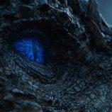 Viserion, dragón blanco en el 7x06 de 'Juego de Tronos'
