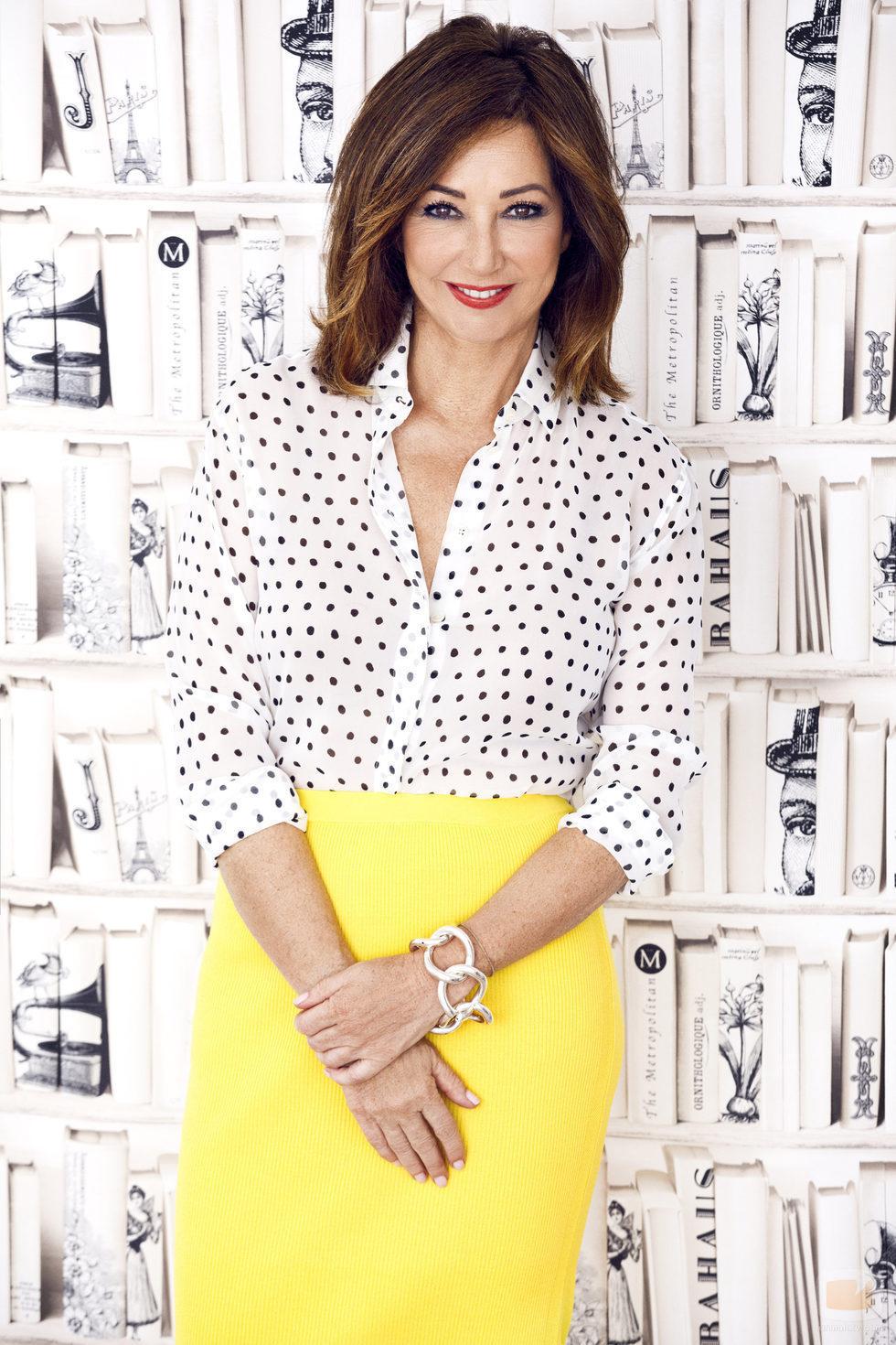 Ana Rosa Quintana, en las fotos promocionales de la nueva temporada de 'El programa de Ana Rosa'