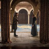 Cersei y Jaime Lannister en el 7x07 de 'Juego de Tronos'