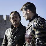 Jaime Lannister y Bronn en el 7x07 de 'Juego de Tronos'