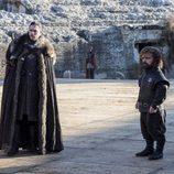 Jon Snow y Tyrion Lannister en el 7x07 de 'Juego de Tronos'