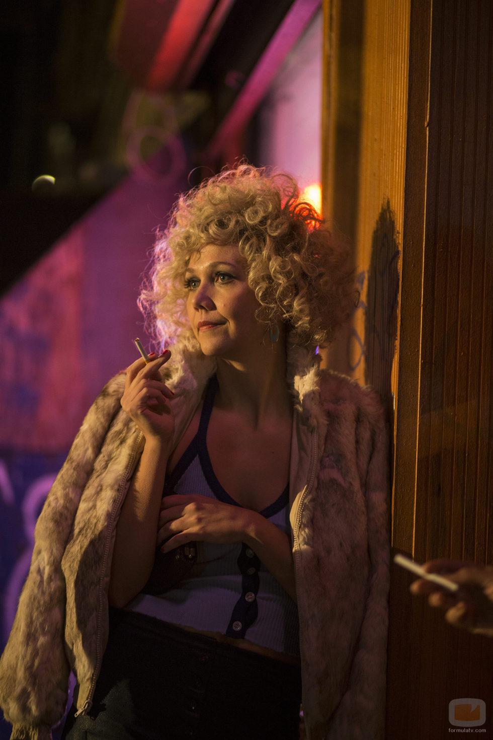 "Maggie Gyllenhaal interpreta a Eileen ""Candy"" Merrel en 'The Deuce'"