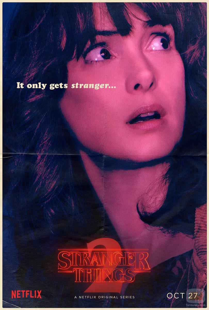 Cartel de Joyce Byers en la segunda temporada de 'Stranger Things'
