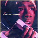 Cartel de Lucas Sinclair en la segunda temporada de 'Stranger Thnigs'