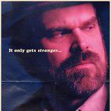 Cartel de Jim Hopper en la segunda temporada de 'Stranger Things'
