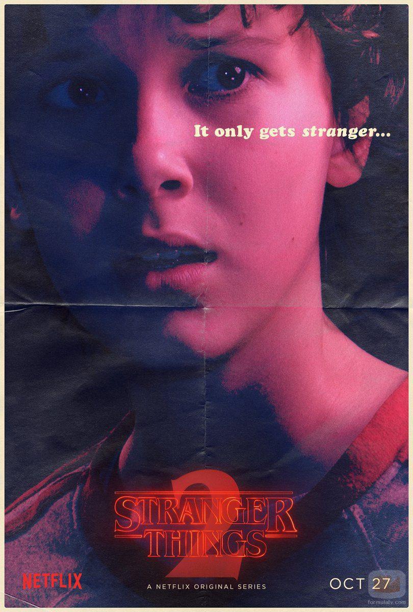 Cartel de Eleven en la segunda temporada de 'Stranger Things'