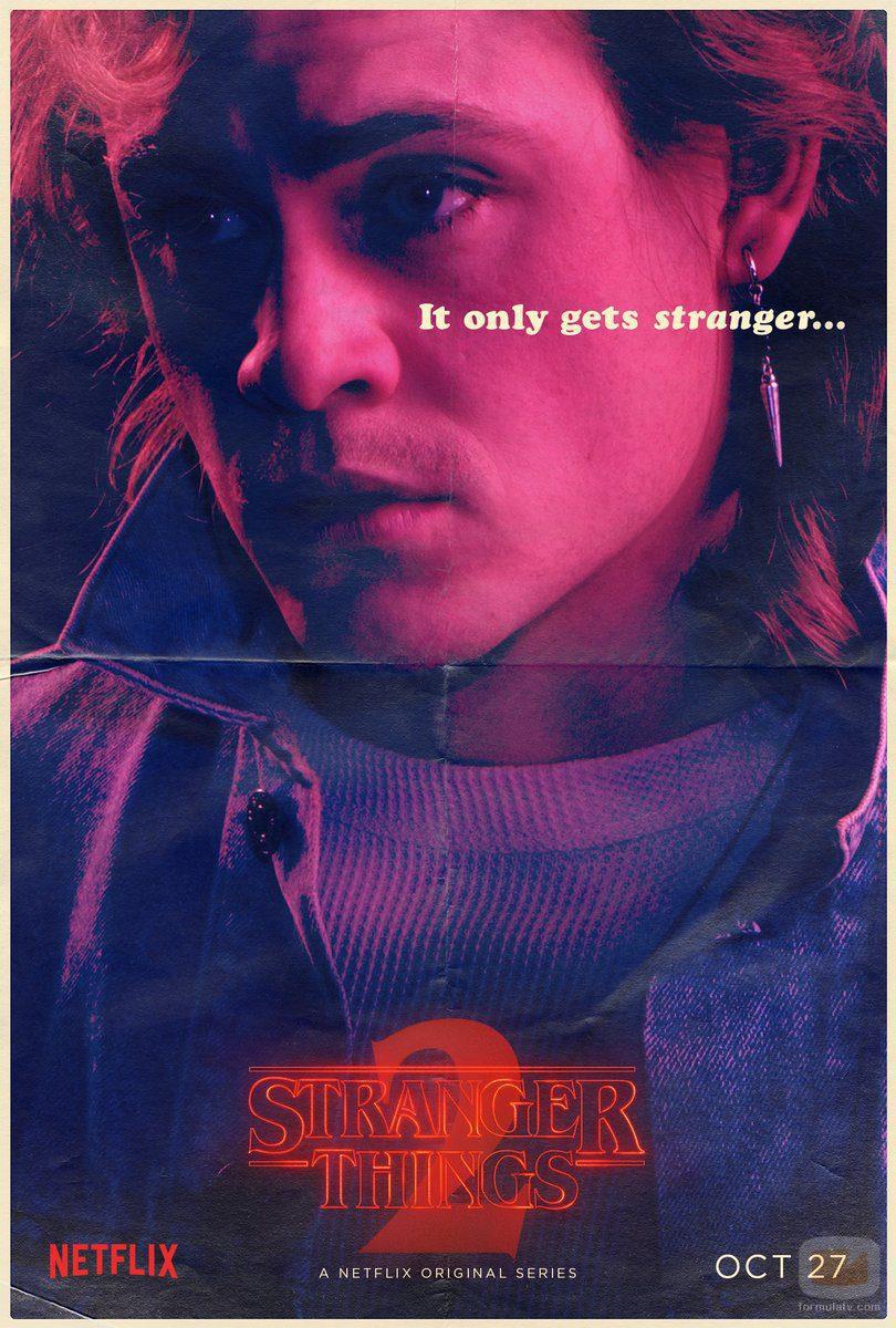 Cartel de Billy en la segunda temporada de 'Stranger Things'