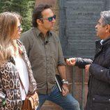 Miguel Ángel Revilla habla con Iker Jiménez y Carmen Porter en la 13ª temporada de 'Cuarto milenio'