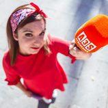 María Zamora presentadora de 'La chica de las series'