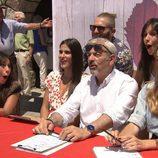 El equipo de 'First Dates' en el casting de Zarzuela del Monte