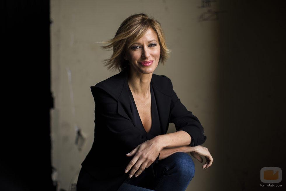 Susanna Griso, posa en las fotos promocionales de 'Espejo público'