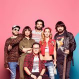 Imagen promocional de la banda de rock de 'Ella es tu padre'