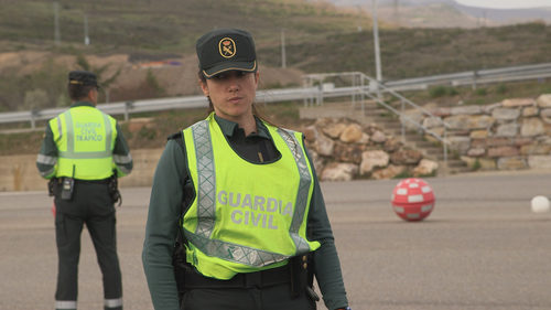 Guardias civiles en 'Héroes, más allá del deber'
