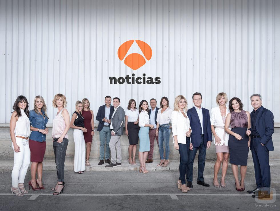 Imagen promocional de la nueva temporada de 'Antena 3 noticias'