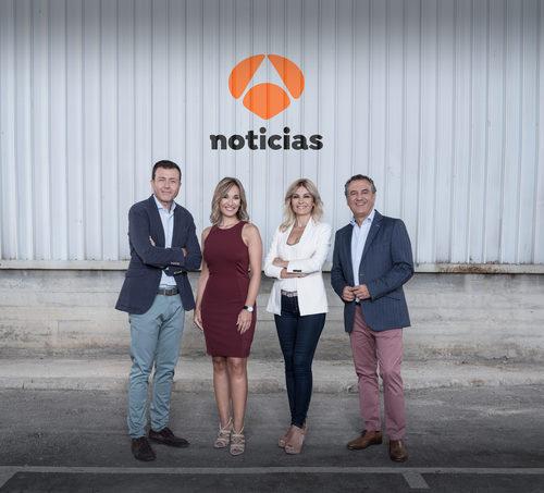 Imagen promocional de la nueva temporada de 'Antena 3 noticias 1'