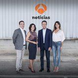 Imagen promocional de la nueva temporada de 'Antena 3 noticias fin de semana'