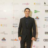Alejo Sauras ('Estoy vivo') posa en el photocall del FesTVal