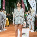 La actriz Anna Castillo posa en el FesTVal para la inauguración de la serie 'Estoy vivo'