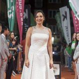 Pose de Crsitina Plazas en el estreno de 'Estoy vivo' en el FesTVal