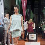Pose de Goizalde Núñez sonriente en el estreno de 'Estoy vivo' en el FesTVal
