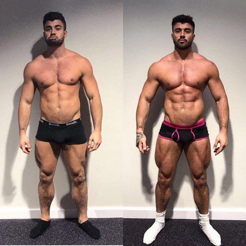 El antes y después de Rogan O'Connor, de 'La venganza de los ex'