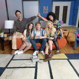 La familia protagonista de 'Me cambio de década', el nuevo programa de Antena 3