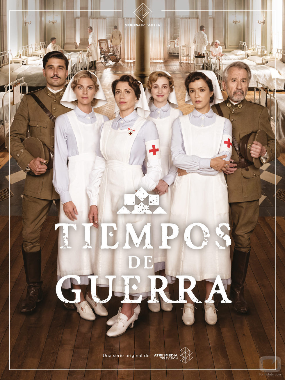 Cartel oficial de 'Tiempos de Guerra', la serie de Antena 3